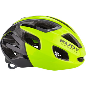 Rudy Project Strym Casque, yellow fluo shiny